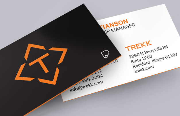 Trekk augmented reality business cards