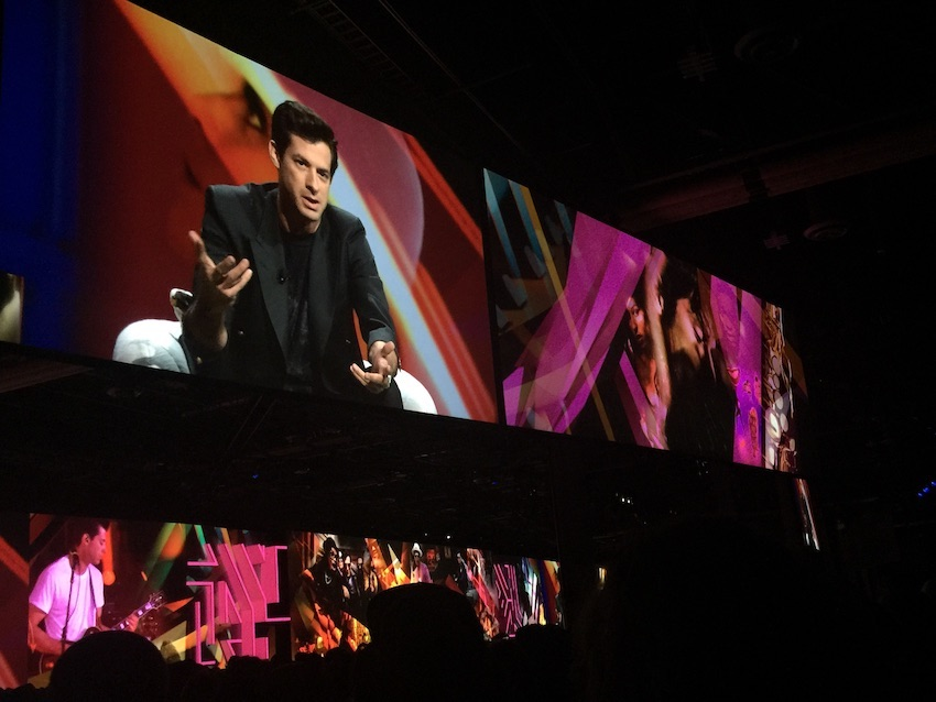 Mark Ronson at Adobe MAX