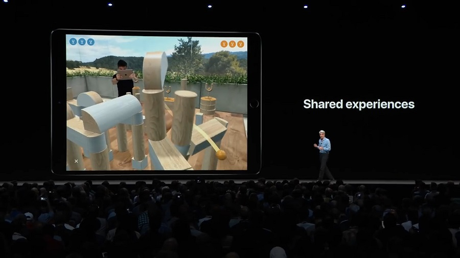 shared experiences at wwdc